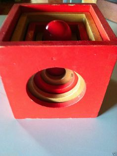 Creative playthings mid century modern toys on pinterest for Mid century modern toy box