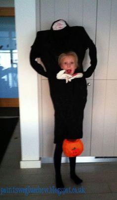 PaintSewGlueChew: DIY Headless halloween costume diy