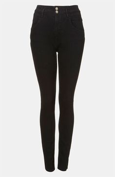 Topshop Moto 'Kristen' High Waist Skinny Jeans available at #Nordstrom