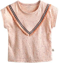 Agibaby Boys and Girls Infant Toddler Short Sleeve Tshirts Little Indian M23T Peach >>> Details can be found by clicking on the image.Note:It is affiliate link to Amazon.