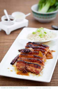 Pork Pork Belly with Orange & Ginger | Photo: Tasha Seccombe, Recipe & testing & preparation: The Food Fox, Styling: Tasha Seccombe & Nicola Pretorius
