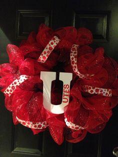 Utah Utes wreath