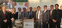 BERLÍN. La empresa hortofrutícola motrileña SAT Campos de Granada se ha estrenado esta semana en Fruit Logística, la feria internacional más importante de frutas y hortalizas