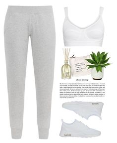 """- Grey and White -"" by lolgenie ❤ liked on Polyvore featuring adidas, Sugarboo Designs, NIKE and Dr. Vranjes"