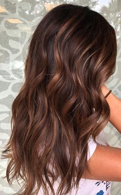 ideas hair color chocolate copper dark brown - All For Hair Color Balayage Brown Ombre Hair, Light Brown Hair, Copper Brown Hair, Dark Red Brown Hair, Chocolate Brown Hair With Highlights, Brown Hair With Copper Highlights, Chocolate Auburn Hair, Dark Fall Hair, Hair Color For Brown Skin