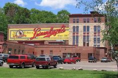 Leinenkugel Brewery in Chippewa Falls... defiantly should be add to your bucket list of brewery to visit and tour!