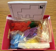 great blog with middle school math station ideas