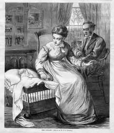 Harper's Weekly May 29 1869 The Lullaby W. by HistoricalPrintsMaps