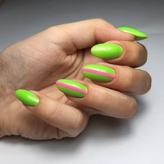 Neon Lime nails nailart desing Lime Nails, Nailart, Neon, Beauty, Neon Colors, Beauty Illustration, Neon Tetra