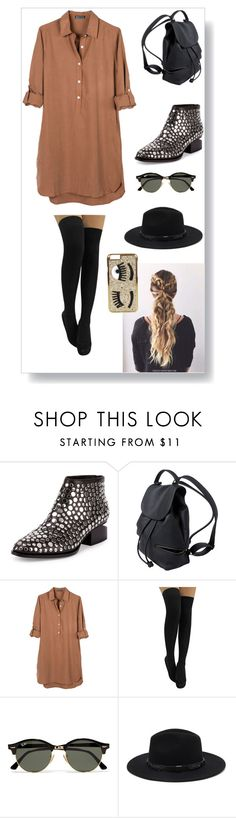 """Sin título #77"" by julietarequena on Polyvore featuring moda, Alexander Wang, United by Blue, Ray-Ban, Forever 21 y Chiara Ferragni"
