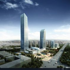 ATKINS Shanghai has recently completed the design concept for a future skyscraper/mixed use center for the future central business district of Zhangjiagang,