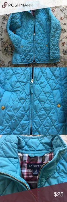 Kids Land's End girls jacket Super cute size 7-8 kids Lands' End Jackets & Coats