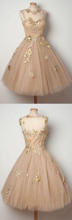 Illusion/Sweetheart Neck Appliqued Sleeveless Homecoming Dresses. ASD2495. graduation dress,  appliqued homecoming dress,party dress,