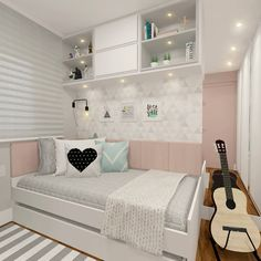 Ideas house simple design bedrooms house is part of Bedroom decor - Cute Bedroom Ideas, Cute Room Decor, Girl Bedroom Designs, Teen Room Decor, Awesome Bedrooms, Bedroom Decor, Bedroom Furniture, Furniture Ideas, Bed Designs
