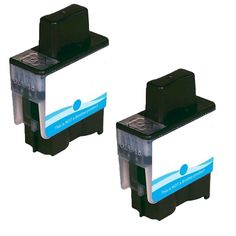 N 2 PK LC41C Compatible Ink Cartridge For Brother FAX1840C 1940CN 2440C