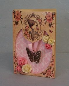 Card made using the 'Mirabelle' packaging