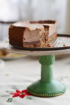 Chocolate Hazelnut Cheescake by Sandra/Little World, via Flickr