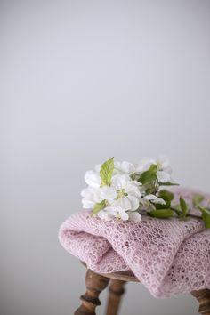 Ravelry: Wild Cherries shawl knitting pattern from Woolenberry.