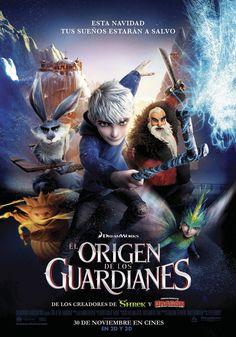 2012 - El origen de los guardianes - Rise of the Guardians