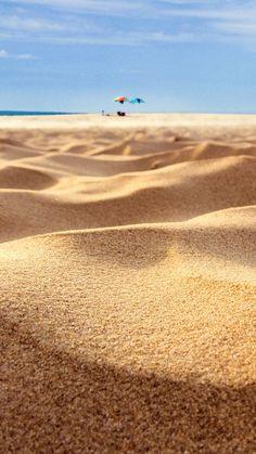 Beach Sand Closeup Holiday iPhone 6 Plus HD Wallpaper