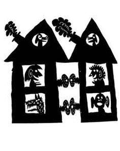 Mark Bulwinkle shadow puppets