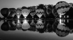 Buy Balluminaria by Cathy Donohoue as a matted print, mounted print, canvas print, framed print, or art prints Framed Prints, Canvas Prints, Art Prints, Air Balloon, Balloons, Mirror Lake, Photos, Pictures, Beautiful Landscapes