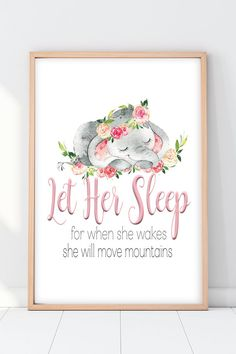 Awesome baby nursery info are offered on our internet site. Take a look and you wont be sorry you did. Elephant Nursery Girl, Girl Nursery Art, Elephant Baby, Nursery Ideas For Girls, Diy Girl Nursery Decor, Dumbo Nursery, Elephant Room, Girl Decor, Nursery Themes