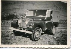 THE EARLIEST LAND ROVER