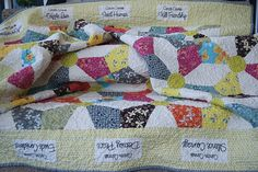 A cancer quilt for a friend who was recovering cancer in 2011