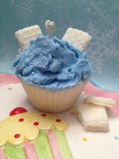 Warm Vanilla Sugar Scented Cupcake Candle by SweetCandleBake, $7.00