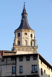 Alava Vitoria -Torre de la Catedral de Santa María de Vitoria y Casa-Torre de Los Hurtado de Anda.