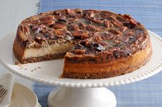 Cheesecake al estilo pay de chocolate y nueces Receta - Comida Kraft