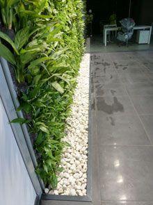muro verde artificial - Buscar con Google Vertical Garden Plants, Vertical Garden Design, Jardin Vertical Artificial, Artificial Plants, Landscape Concept, Landscape Design, Vertikal Garden, Green Facade, Garden Deco