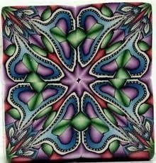 kaleidoscope polymer clay tutorial - Поиск в Google