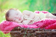 Hadley--I'd be smiling too if I was draped in pearls! :)