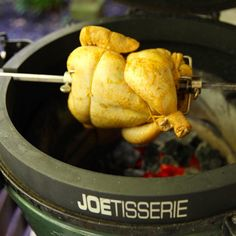 Back home from family vacation and back to cooking... Peruvian Chicken on the #joetisserie is underway! . . . #kamado #eggheads #BBQ #biggreenegg #BGEnation #biggreeneggnation #bge #bgeporn #grillporn #egghead #eggers #egghead4life #foodie #foodporn #foodgasm #foodography #foodpic #foodpics #instafood  #foodiegram #TheBBQBuddha #biggreenbrotherhood #fogocharcoal #manmeatbbq #grillinfools #bbqbretheren