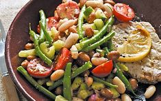 Mixed bean salad with mustard dressing recipe | GoodtoKnow