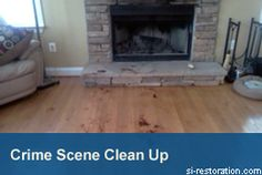 Crime Scene Clean Up and Blood Cleaning services by SI Restoration