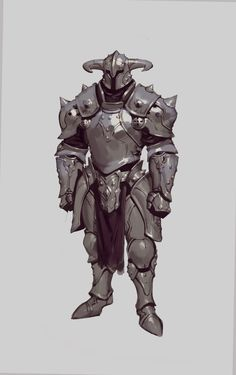 ArtStation - Armor: Spike and Horn, Bugeon ChoiYou can find Armors and more on our website.ArtStation - Armor: Spike and Horn, Bugeon Choi Game Character Design, Fantasy Character Design, Character Design Inspiration, Character Concept, Character Art, Dungeons And Dragons Characters, Dnd Characters, Fantasy Characters, Armor Concept