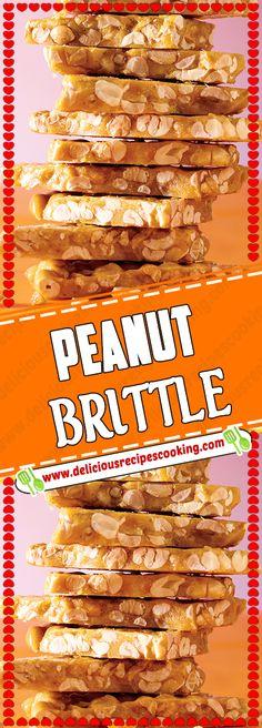 PEANUT BRITTLE Via #deliciousrecipescookingcom #dessertrecipes #PEANUT #BRITTLE #cake #desserttable #cookies