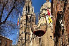 Ruta Toledo Mágico Red Wine, Alcoholic Drinks, Tours, Glass, Wine, Paths, Drinkware, Corning Glass, Red Wines