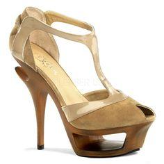 DELUXE-682 Sexy Pleaser Shoes High Heels