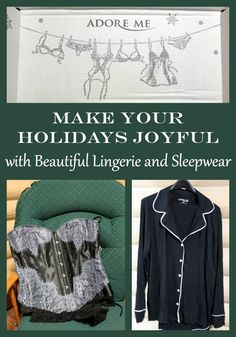 You can make your holidays joyful with beautiful lingerie and sleepwear from Adore Me  #GiftAdoreMe #IC [ad] @adoremeofficial