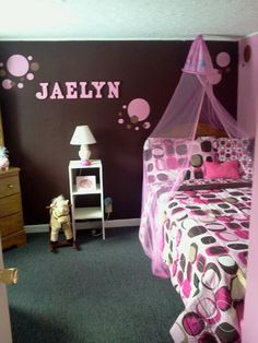 46 Best Girls Pink Brown Room Ideas Rooms Girl