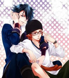 K-Project Saruhiko Fushimi/Misaki Yata Anime Glasses Boy, Otaku, Gang Road, Kawaii Chan, Ship Art, Anime Ships, Some Pictures, Doujinshi, Anime Couples