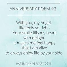 One year anniversary dating poem