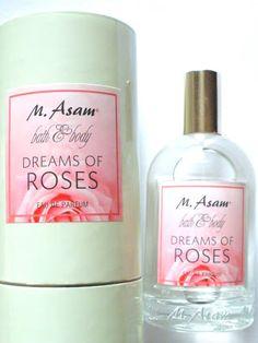 Beauty & Lifestyle Blog für die Frau ab 40: M. Asam Dreams of Roses Eau de Parfum  /  Sponsore...