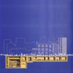 RENZO PIANO AND RICHARD ROGERS  //  THE UNDERGROUND RESEARCH CENTER (IRCAM) AT THE CENTRE POMPIDOU , 1971-77