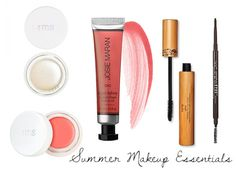 Natural Summer Makeup Essentials | The Organic Beauty