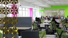 Cool Office Interior Design For Uk Media Company By Spectrum Workplace ~ imanada
